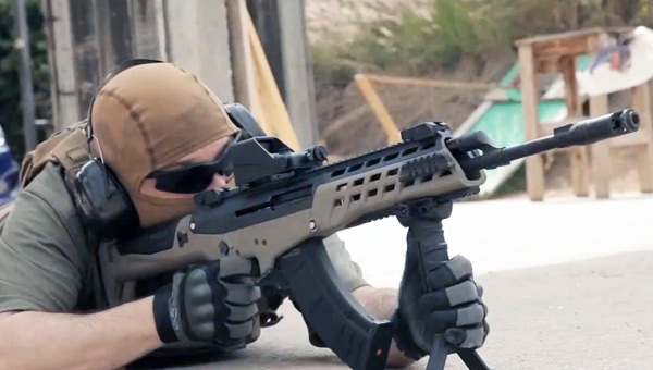 没看出来这原来是一把AK-47