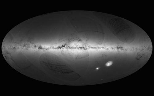 """""""盖亚""""拍摄超11亿颗恒星 将绘最精确银河地图"""