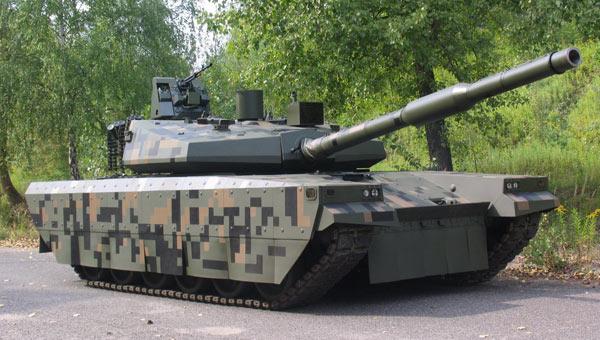 波兰魔改版T-72坦克颜值爆表