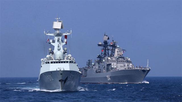 中俄联演军舰对比让人感慨