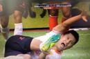 杨超声破门遭意外断腿 铲球之人曾同是恒大队友