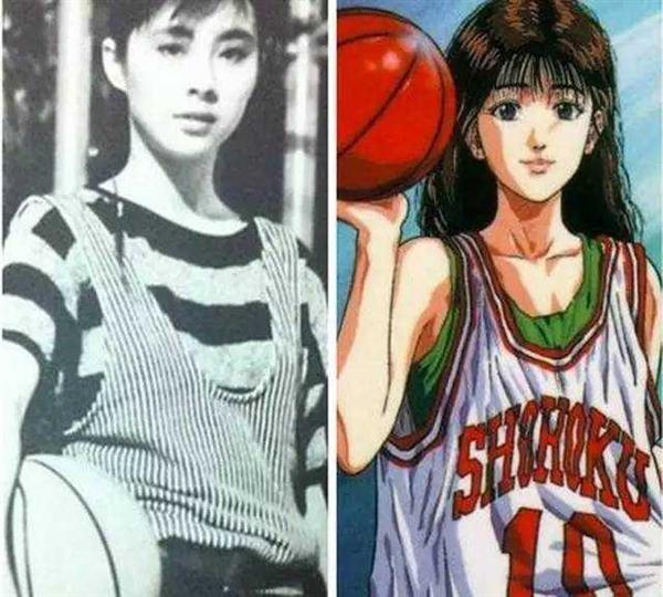 《灌篮高手》赤木晴子原型原来是她!中国大美女