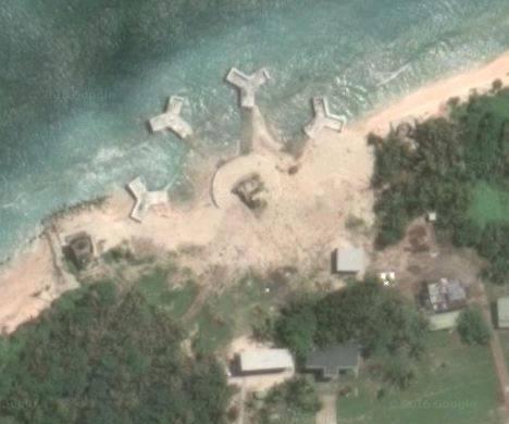 """台媒:太平岛现神秘""""巨型结构体"""""""