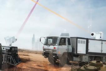 中国激光武器现身非洲防务展