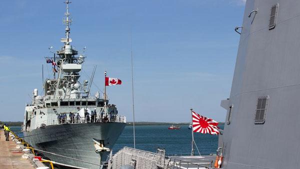 澳最大规模海军演习 19国参与