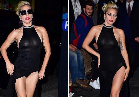 一张照片告诉你Lady Gaga背后有多辛苦!