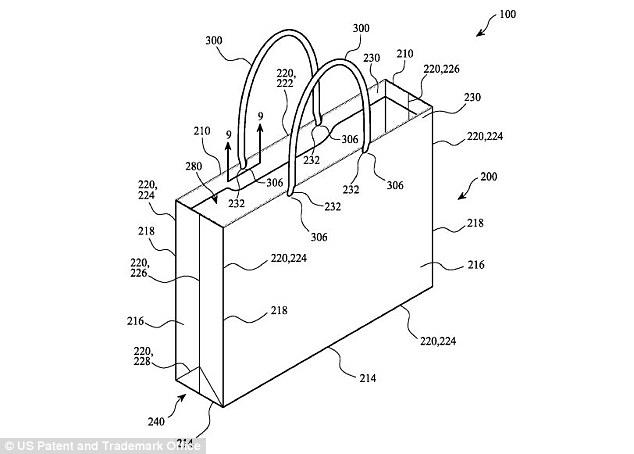 苹果最新专利不是手机 白色纸袋也与众不同