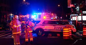 美国纽约曼哈顿发生爆炸