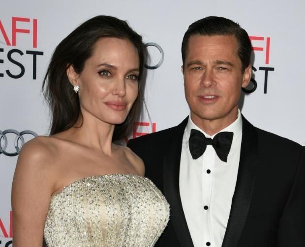 传好莱坞著名女星安吉丽娜•朱莉诉请与皮特离婚