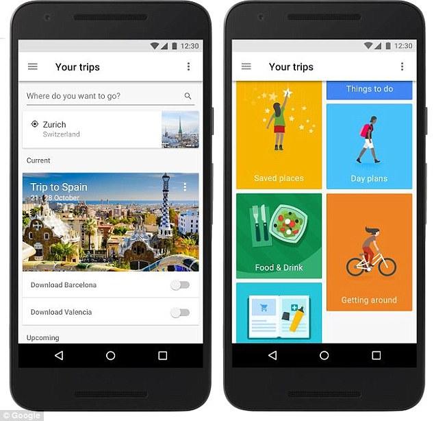 自由行好帮手!谷歌推实用旅游软件Google Trips