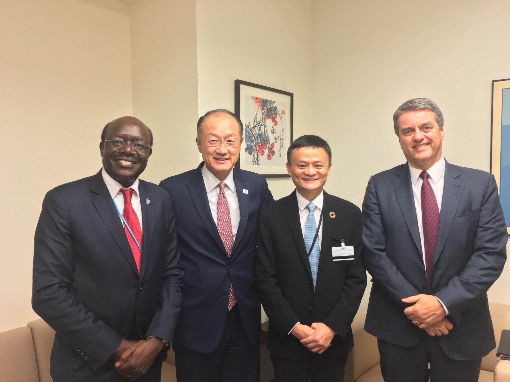 马云受邀出任联合国特别顾问 并获红色特别通行证