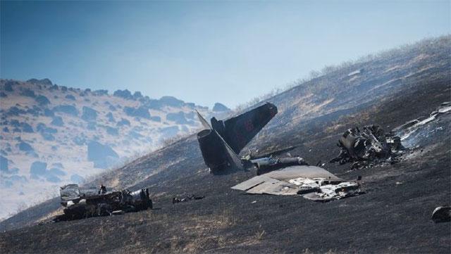 美军一架U2侦察机坠毁1死1伤