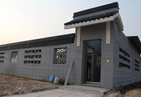 山东3D打印别墅每平造价五千元