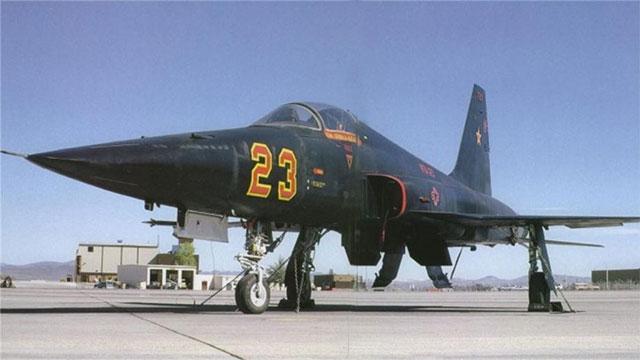 美国空军假想敌部队旧照
