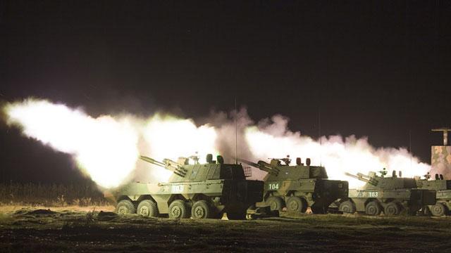 陆军实弹射击装备 联合火力覆盖