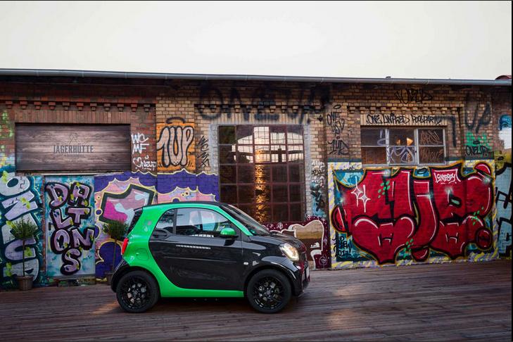 2017款Smart Fortwo电动版发布 将亮相巴黎车展