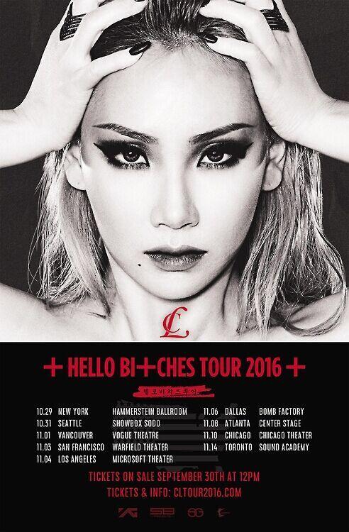韩歌手CL在美出道 将在北美9大城市开唱