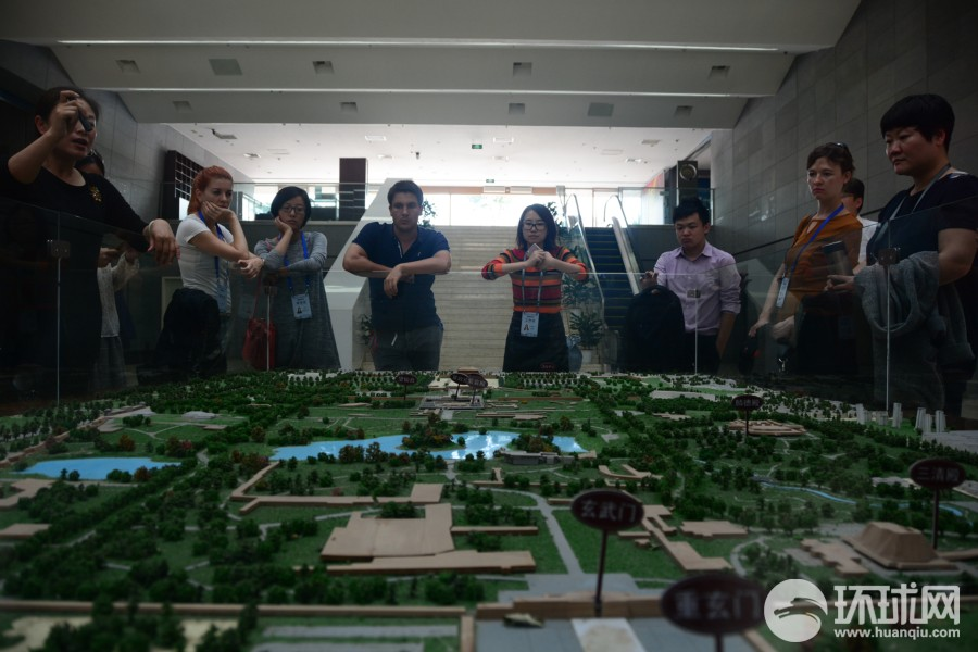 2016外媒西安行第三天:历史文化明珠曲江新区