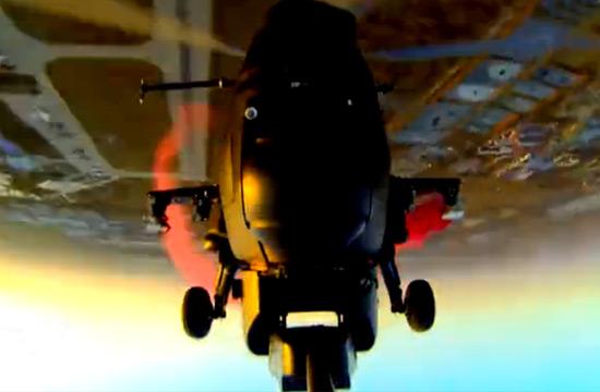 武直10空中翻筋斗展示强大性能