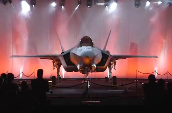 日本首架F-35A五代机正式发布