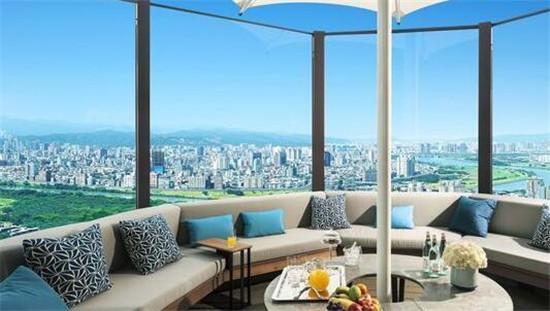 周杰伦1.4亿空中豪宅曝光:装修奢华 俯瞰101
