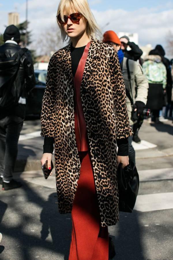 秋冬时尚出街 法媒推荐13款豹纹风格造型
