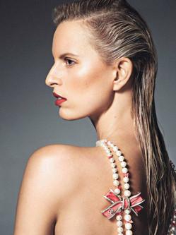 超模卡罗莱娜·科库娃杂志写真