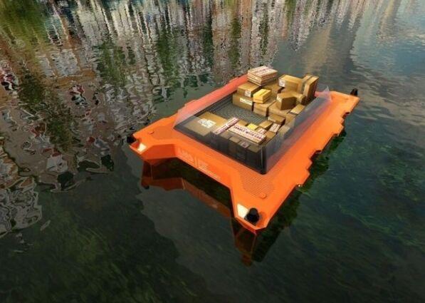 荷兰研发无人驾驶船