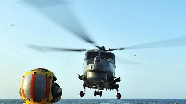韩美联合军演韩直升机失事