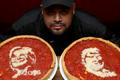 美国大选特色披萨出炉