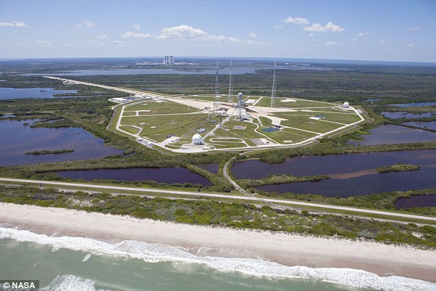 气候变化致海平面上升 美肯尼迪航天中心恐遭淹没