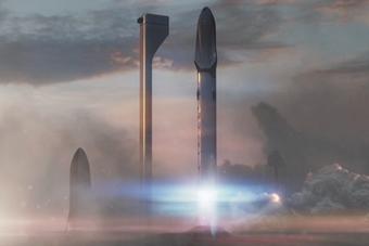 SpaceX发布火星移民方案