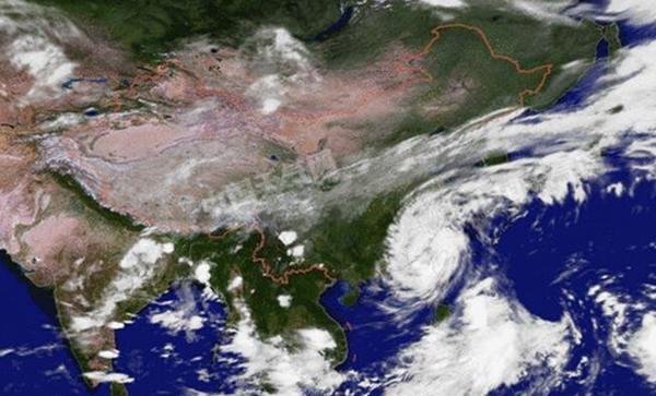 """台风""""鲇鱼""""登福建泉州 5省局地遭大暴雨(图)"""