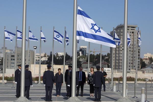以色列降半旗悼念已故前总统佩雷斯