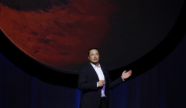 "SpaceX马斯克公布""火星殖民""计划:票价20万美元"