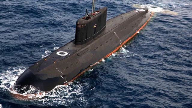 助中国海军提升水下实力潜艇