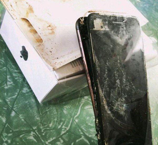 三星Note 7不哭!苹果iPhone 7首炸曝光