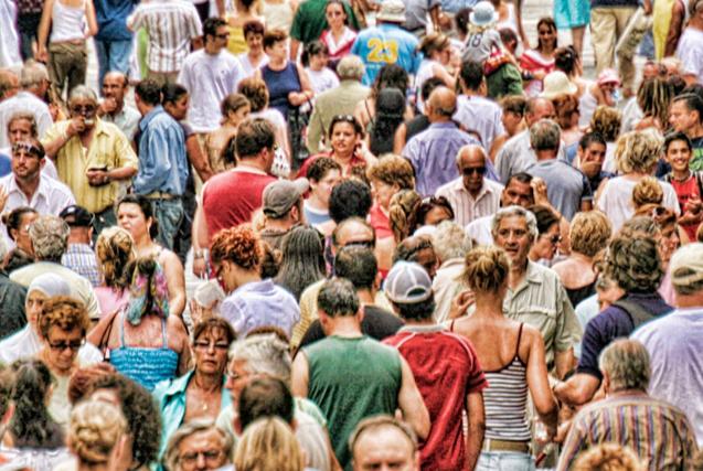 图揭全球最拥挤城市:密密麻麻全是人
