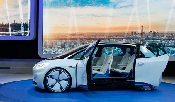 巴黎车展大众I.D.电动概念车世界首秀