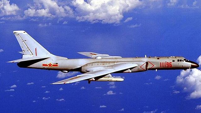 轰6K战轰远海行动清晰图曝光