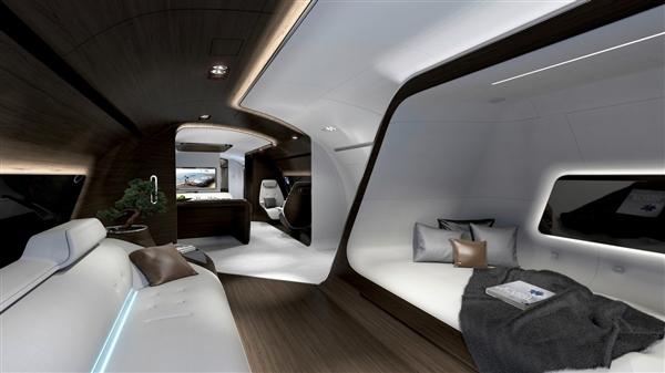 奔驰设计豪华飞机内部曝光:堪比总统套房