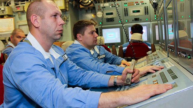 俄最新战略核潜艇内部图曝光