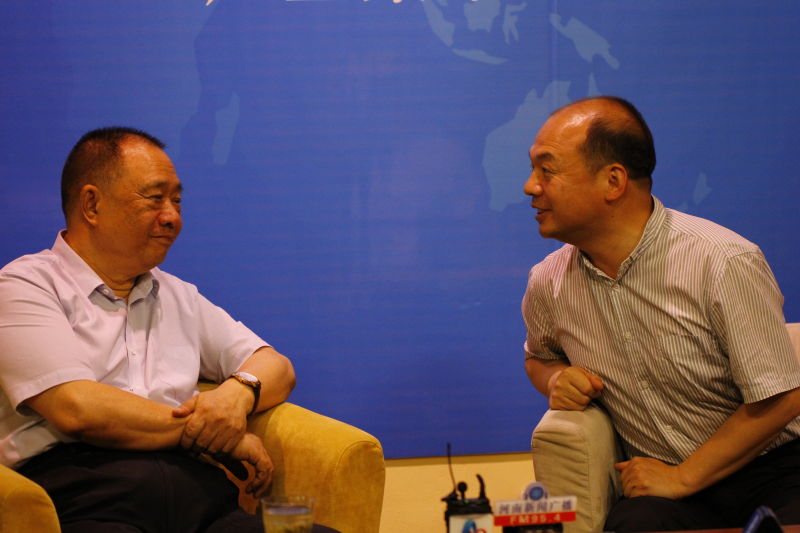 杨建国:用对话传递思想 《老杨会客厅》要成为河南对外的宣传窗口