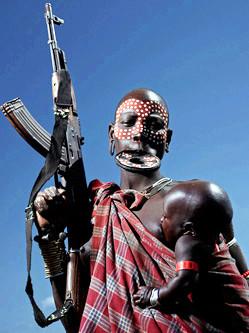 埃塞俄比亚原始部落:现代文明入侵
