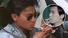 开扒男星私下抽烟造型