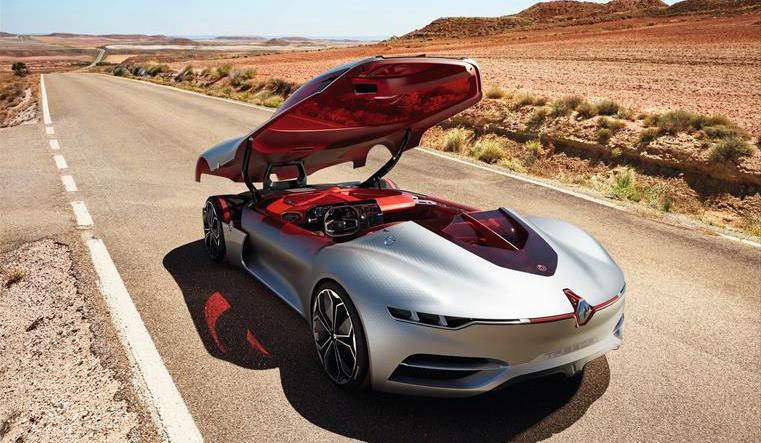 Trezor电动概念跑车 开个车门就能吸睛无数