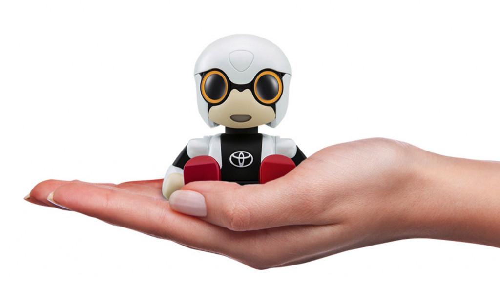 丰田新款智能陪伴机器人 融合人工智能服务