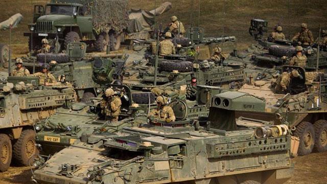 美匈联合军演美俄装备大乱斗