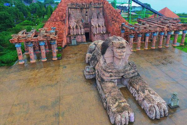 宁波现山寨世界建筑 网友吐槽一站式游遍世界