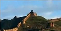 """山西明长城标志性景观""""月亮门""""坍塌"""
